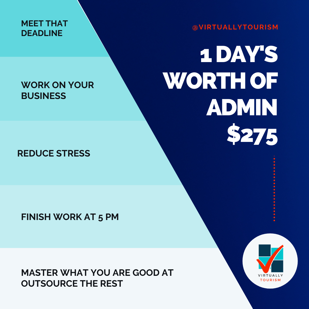 1 Day of Admin for $275