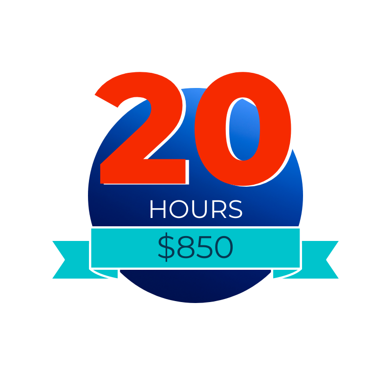20 Hour Retainer Package